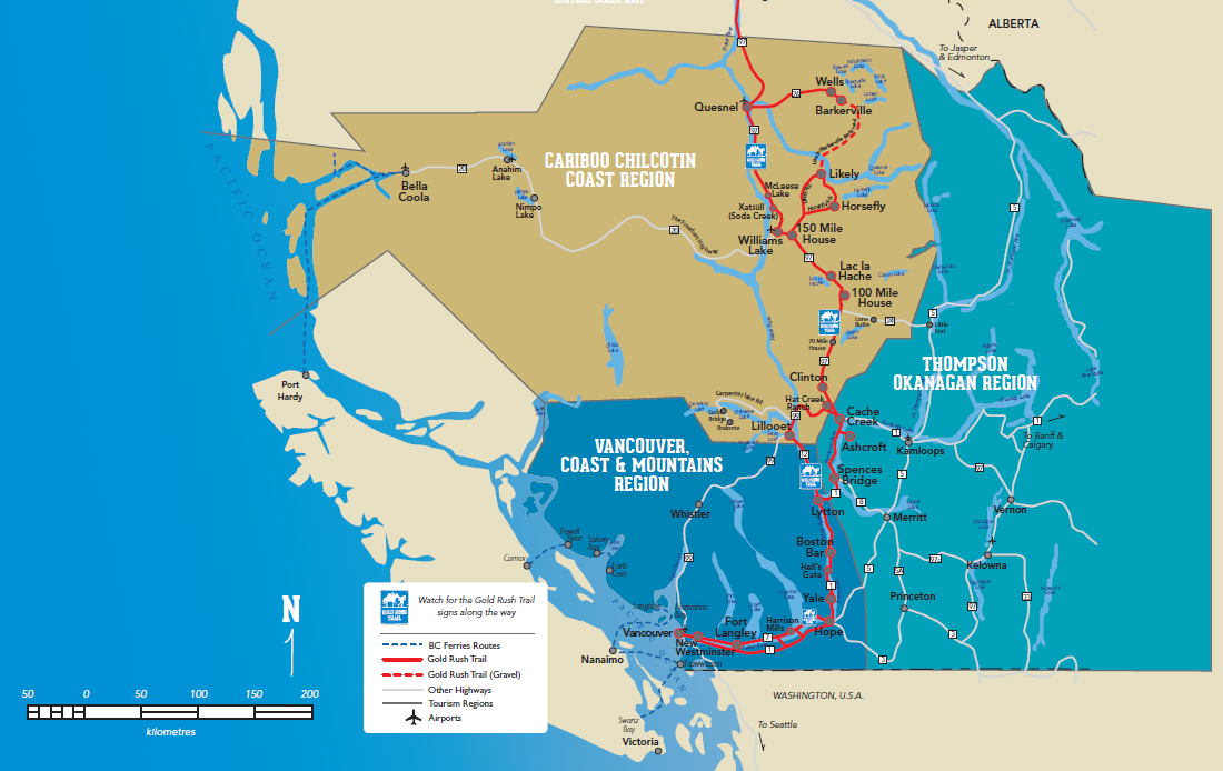 bc gold rush trail map