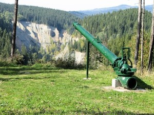 gun for hydraulic mining