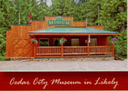 Cedar City Museum in Likely copy